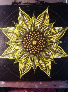 Mandala Nature Dot Art Painting Mandala Painting Pottery Painting Painting P Dot Art Painting, Rock Painting Designs, Mandala Painting, Pottery Painting, Painting Patterns, Stone Painting, Dot Painting On Rocks, Aboriginal Dot Painting, Mandala Art Lesson