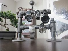 IndustrialInspired Watch Stand or Bracelet Holder by magdiaksj, $49.00