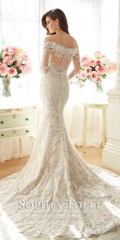 12 Best Sophia Tolli Wedding Dresses ❤ See more: http://www.weddingforward.com/sophia-tolli-wedding-dresses/