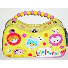 Lalaloopsy Yellow Scoop Purse Tin with Beaded Handle *** Check this awesome product by going to the link at the image.