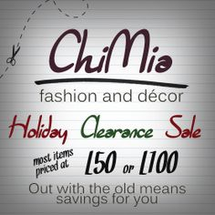 ChiMia Holiday Clearance SALE http://maps.secondlife.com/secondlife/Jack%20and%20Jones/125/43/24