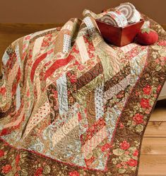 Dripping Diamonds Jelly Roll quilt