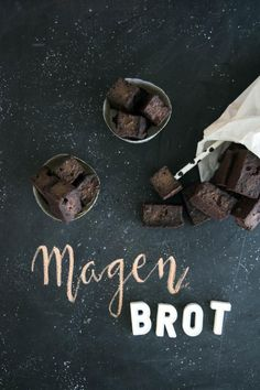 gesundes Magenbrot Sweet Recipes, Vegan Recipes, Brownie Bar, Healthy Baking, Dessert, Gingerbread, Food And Drink, Ice Cream, Sweets