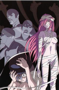 Elfen Lied. Just started it last night I watched season one episodes one and two I LOVE THIS SHOW OMG