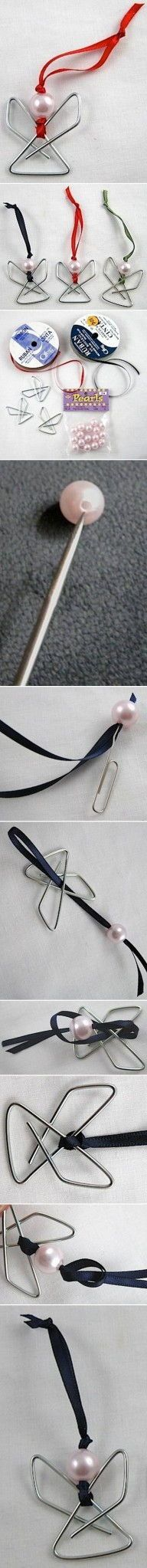 DIY Paper Clip Angel DIY Projects