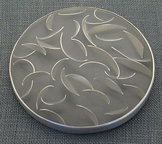Carla Pennie Jewelry Design – Brooches – Silver Leaf Brooch and Pendant