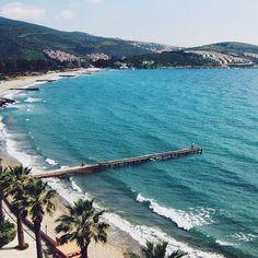 Perfect view ♡#destinationany #anywheretraveler #travelblogger #traveler #travelgram #instatravel #perfection #perfectview #whataview #aegeansea #beachlovers #naturelovers #summer #summermemories #summerholiday #beautifuldestinations #beautifulsea #bluesea #takemetoturkey #turkey #kusadasi #welivetoexplore #ig_romania #igromania #igersromania
