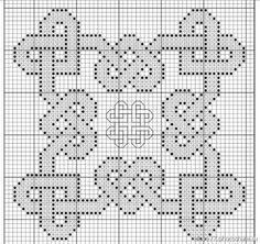 Celtic hearts knotwork X-stitch pattern Celtic Cross Stitch, Biscornu Cross Stitch, Cross Stitch Heart, Counted Cross Stitch Patterns, Cross Stitch Designs, Cross Stitch Embroidery, Celtic Patterns, Celtic Designs, Diy Broderie