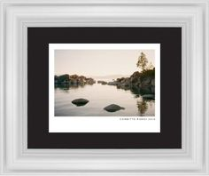 Modern Gallery Framed Print, White, Classic, None, Black, Single piece, 8 x 10 inches, White