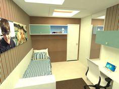 Suíte Filhos Gêmeos - Apartamento Residencial