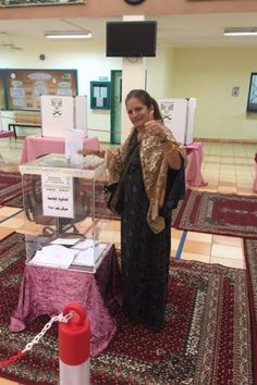 Saudi Women Are Tweeting Photos Of Themselves Voting For The First Time - BuzzFeed News