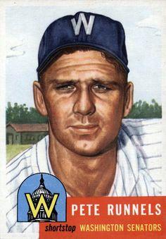 1953 Topps Pete Runnels
