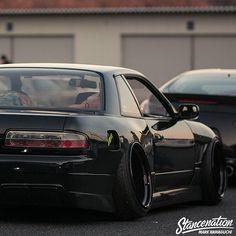 Tuner Cars, Jdm Cars, Custom Muscle Cars, Custom Cars, S13 Silvia, Jdm Wheels, Datsun Car, Jdm Wallpaper, Street Racing Cars