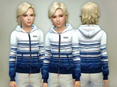 The Sims Resource: Waterproof Windbreaker by Lillka • Sims 4 Downloads