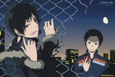 Izaya and Mikado