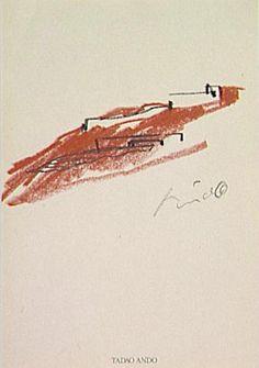 Esquisse d'implantationMusée Kagawa Tadao Ando