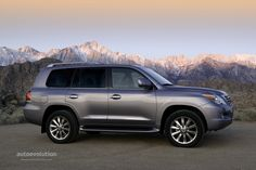 LEXUS LX (2008 - Present) Description & History: The engine powering this massive SUV is the 5.7L 3UR-FE V8 unit, which was at the time, Toyota's most powerful engine.
