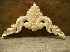 Carved Wood Onlay Lique 10 3 4w 8 X 6 Liques