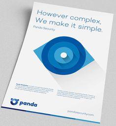 """Panda es un software de seguridad fundado en Bilbao España desde 1990. Su rediseño es un ejemplo de como se puede """"modernizar"""" una marca. Algunos no están de acuerdo con el estilo de la tipografía,..."""