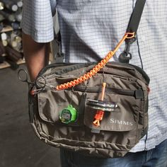 The half brother to our popular 550 Wader Lanyard! This little guy puts the necessities at your fingertips. Attach it to one strap of your waders, wader belt, chest or waist pack, kit bag, the...