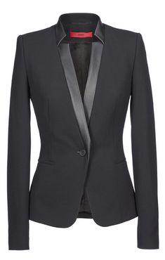 4d94e7342 Blazers - confeccionar em Cinza com calça Casacos E Jaquetas, Roupas  Pretas, Roupas Estilosas