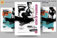 fitness flyer gym flyer v12 by satgur design studio on creativemarket fitness flyer