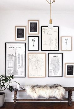 Steal The Look: Modern, Cozy Style For Fall: A Simple Wall Story
