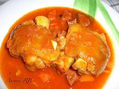 Las recetas de Aurora: Manitas de cerdo en salsa
