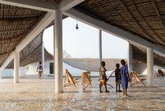 Thread, Centre culturel et résidence d'artistes, Sinthian (Sénégal) - D'architectures