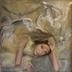 Kai Fine Art is an art website, shows painting and illustration works all over the world. Fantasy Paintings, Paintings I Love, Angel Paintings, Les Themes, Dream Art, Angel Art, Whimsical Art, Art Pages, Beautiful Artwork