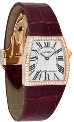 Cartier La Dona Rose Gold Diamond Watch