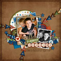 Smiles & Laughter - Scrapbook.com #page#layout