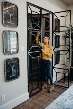 38 Industrial Decor — Tough style from the Century - Page 36 of 38 - Sabrina Beauty Door Grill, Grill Door Design, Home Window Grill Design, Steel Grill Design, Balcony Grill Design, Window Design, Porte Design, Burglar Bars, Iron Windows