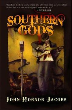 Southern Gods by John Horner Jacobs.    An original blend of detective story meets gothic horror meets soul-stealing blues meets zombie gore meets religious mythology. A great read for late at night under the covers. At times bone-chilling and down right creepy, this book will keep you entertained and doing a fair sharing of research after you're done to find out more on the referenced mythology.