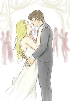Emma Carstairs and Julian Blackthorn