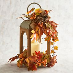 Shop for Candle Lanterns from Pier 1 Imports. Add Unique Lighting to Your Home with Hanging Lanterns for the Indoors and Outdoors. Fall Lanterns, Lanterns Decor, Candle Lanterns, Fall Wedding Decorations, Thanksgiving Decorations, Harvest Decorations, Lantern Centerpieces, Fall Arrangements, Fall Home Decor