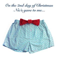 Southern Tide boxers for Southern Gent.