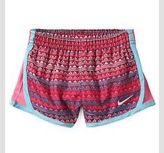 I love these! Nike/ women's shorts/ patterns/ colorful/ adorable