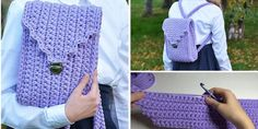 Crochet Elegant Bag Tutorial - Design Peak