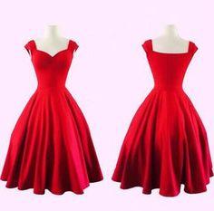 Red vintage Dress More