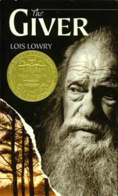 "The Giver by Lois Lowry: ""The man that I named The Giver passed along to the boy knowledge, history, memories, color, pain, laughter, love, and truth. Every time you place a book in the hands of a child, you do the same thing."" #Books"