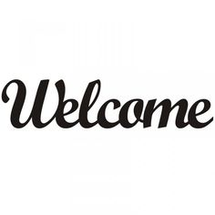 Welcome Font, Welcome Stencil, Welcome Words, Woodburning Letters, Different Handwriting Styles, Monogram Wall Hangings, Word Art Design, Sign Stencils, Quilling Patterns