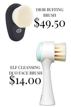 Dior Buffing Brush Dupe – elf Face Brush – Cremes Come True For blending makeup, there's nothing better! An airbrush finish every time. The elf Face Brush is an excellent drugstore dupe for the Dior Buffing Brush. Foundation Tips, Drugstore Foundation, Good Sunscreen For Face, Elf Face, Makeup Over 40, Elf Makeup, Candy Makeup, Drugstore Makeup Dupes, Dupes