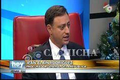 Entrevista A Jean Alain Rodríguez, Procurador General De La República, Sobre La Delincuencia Y La Corrupción
