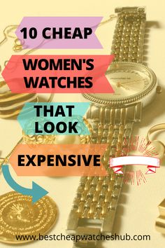 10 Cheap Women's Watches That Look Expensive are the best option for those women who always want to wear some standard, sophisticated and stylish watches. #womensfashion #womenswatches #womensstyle #luxury #classy #affordable #unique #collection #inexpensive #wristwatches #fashionwatches #womensstyle2020 #style #ladieswatches #watches Best Cheap Watches, Amazing Watches, Stylish Watches, Casual Watches, Cool Watches, Wristwatches, Watch Brands, Quartz Watch, Fashion Watches