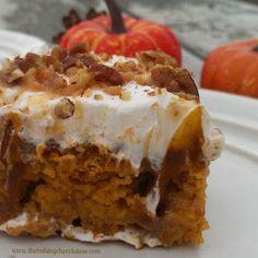 Pumpkin Butter Pecan Poke Cak More