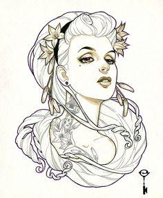 art by Glenn Arthur for the Forever Fabled...