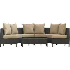 Brayden Studio Murillo 7 Piece Sectional Sectional Seating Group & Reviews | Wayfair