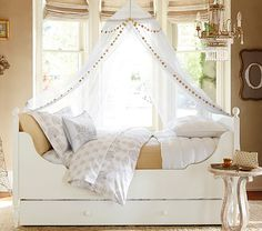 gold bed idea for kids.
