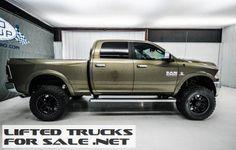 2013 Ram 2500 Laramie Diesel Lifted Truck